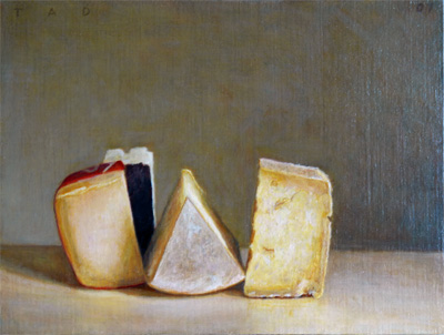 paintings of cheese